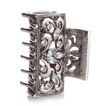 Art Deco Jaw Clip Hair Accessory