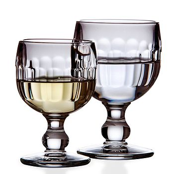 Rounded Wine Or Water Glass