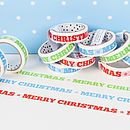 Merry Christmas Decorative Sticky Tape