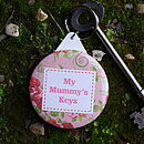 Personalised 'Mummy' Keyring