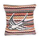 Knit Zag Swallow Cushion
