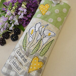 Personalised Lily Glasses Case - bags & purses