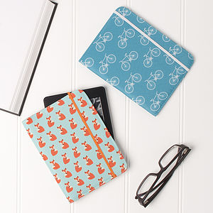 Kindle Case Bicycle Or Fox Design - bags & purses