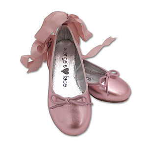 Angel's Face Ballet Pumps - children's shoes, sandals & boots