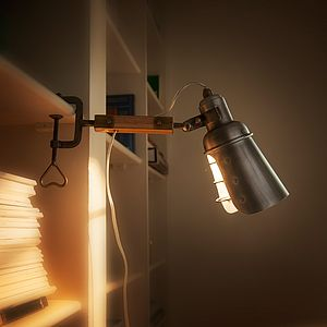 Clip On Light - office & study