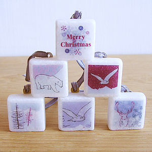 Arctic Themed Marble Gift Wrap Accessories - cards & wrap