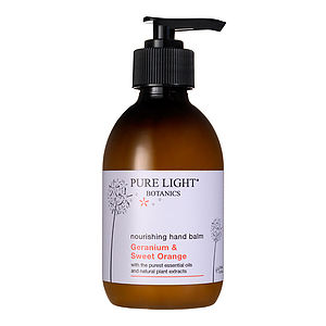 Nourishing Geranium And Orange Organic Hand Lotion