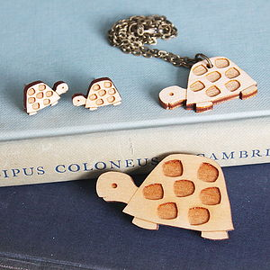 Wooden Turtle Jewellery Gift Set - jewellery sets