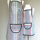 Adult apron shown is in longer length