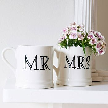 'Mr' Or 'Mrs' Mug
