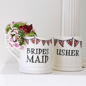 Wedding Party Mug - bridesmaid gifts