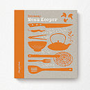 Menu Keepsake Book