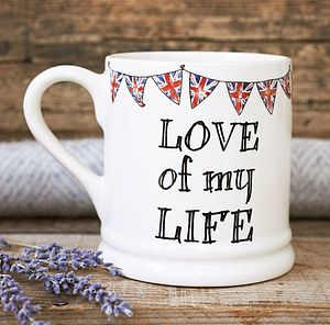 'Love Of My Life' Mug