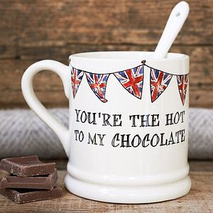 'Hot To My Chocolate' Mug - kitchen