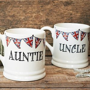 'Auntie' Or 'Uncle' Mug - dining room