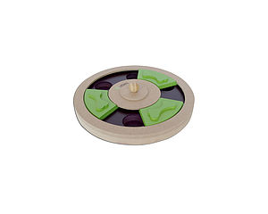 Active Learning Treat Wheel For Pets - toys