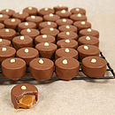 Christmas Chocolate Salted Caramels