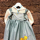 Busy Bumble Bee Girls Party Dress