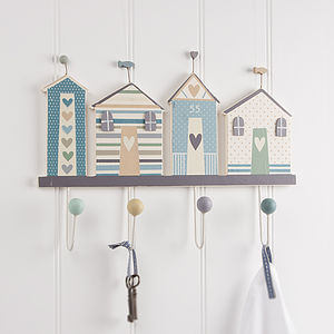 Beach Hut Coat Hook