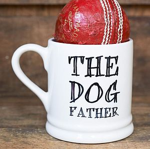 'The Dog Father' Mug - shop by personality