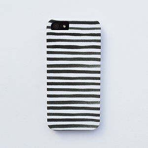 Watercolor Stripe Case For iPhone - tech accessories for her