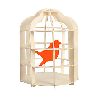 Paper Birdcage Mobile