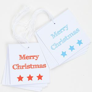 Merry Christmas Gift Tags - view all sale items