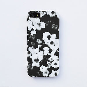 Graphic Flower Case For iPhone - bags & purses