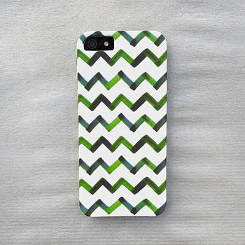 Watercolor Chevron Case For iPhone