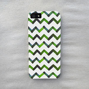 Watercolor Chevron Case For iPhone - men's accessories