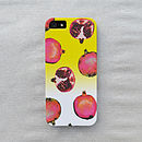 Pomegranate Ombre Case For iPhone