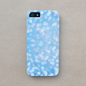 Blurred Sparkle Print Case For iPhone - bags & purses