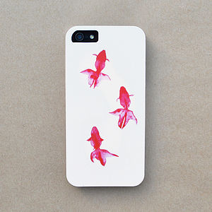 Neon Fish Graphic Case For iPhone - bags & cases