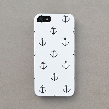 Anchor Print Case For iPhone