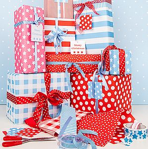 Collection Of Christmas Wrapping Paper - cards & wrap