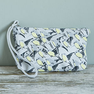 Hand Printed Swallow Makeup Bag - view all sale items