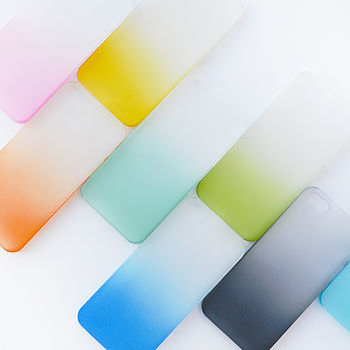 Frosted Ombre Case For iPhone Five