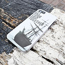 Graphic Ship Case For iPhone Five