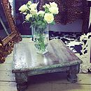 Farmhouse Style Vintage Coffee Table