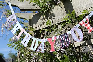 Birthday Boy Bunting - bunting & garlands