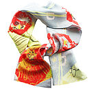Poppy Rouge Silk Scarf