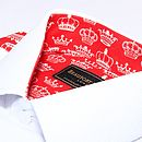 Royal Baby Pattern Dress Shirt