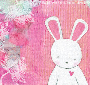 'Evie's Daydream' Art Print For Girls - gifts for babies