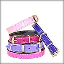 Soft Leather Small Dog Collar