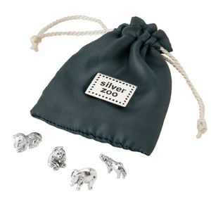 Sterling Silver Zoo Pouch Christening Keepsake - christening gifts