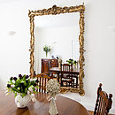 Stunning Large Ornate Gold Mirror