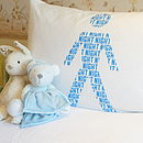 Children's Stick People Pillowcase