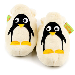 Penguin Soft Baby Shoes - babies' slippers