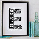 Best Of Earlsfield Screenprint