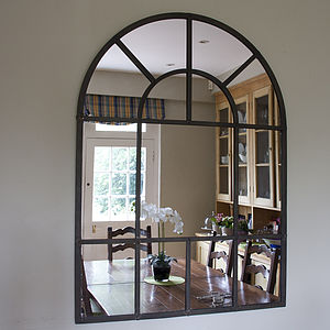 Metal Arch Mirror - mirrors